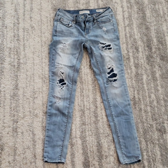 Bullhead Denim - Ripped bullhead skinny jeans